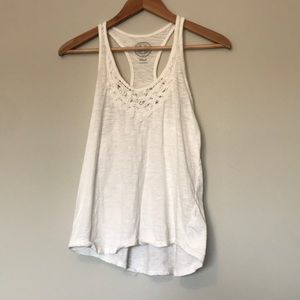 {so} White Tank Top